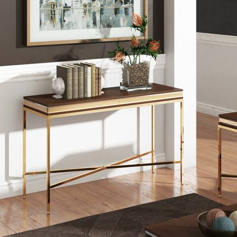 Garble Mirror Trim Sofa Table by iNSPIRE Q Bold