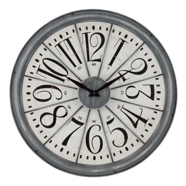 La Crosse Clock 404-3950 20-Inch Alice Quartz Wall Clock
