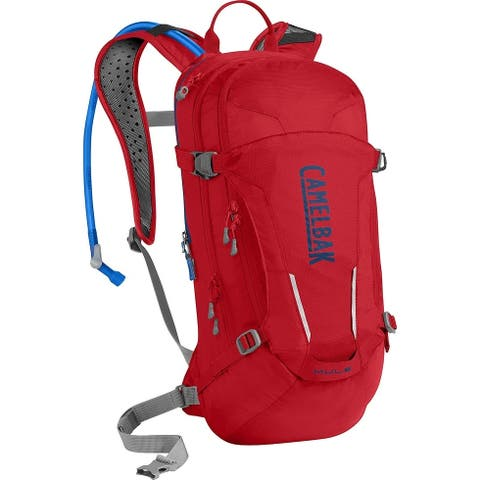 CamelBak 1115602000 M.U.L.E. Hydration Pack, Racing Red/Pitch Blue, 100oz