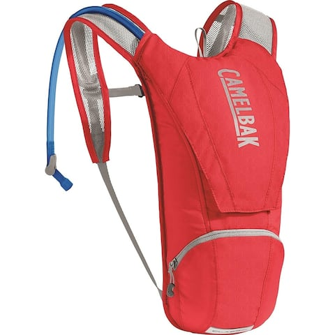 CamelBak 1121602000 Classic Hydration Pack, Racing Red/Silver, 85oz