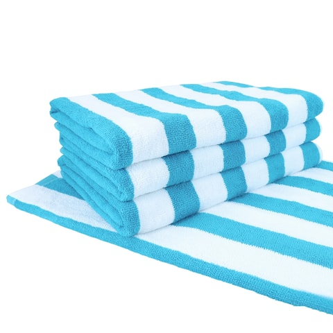 Cali Cabana Beach Towels (4-Pack, 30 x 60 in.) - Oversized pool towels