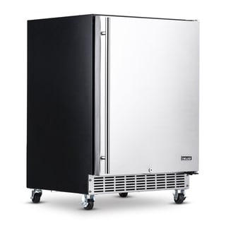Link to NewAir Premium Built-in Outdoor Refrigerator 160 Can Storage Beverage Cooler Center Fridge for Patio - Stainless Steel Similar Items in Large Appliances