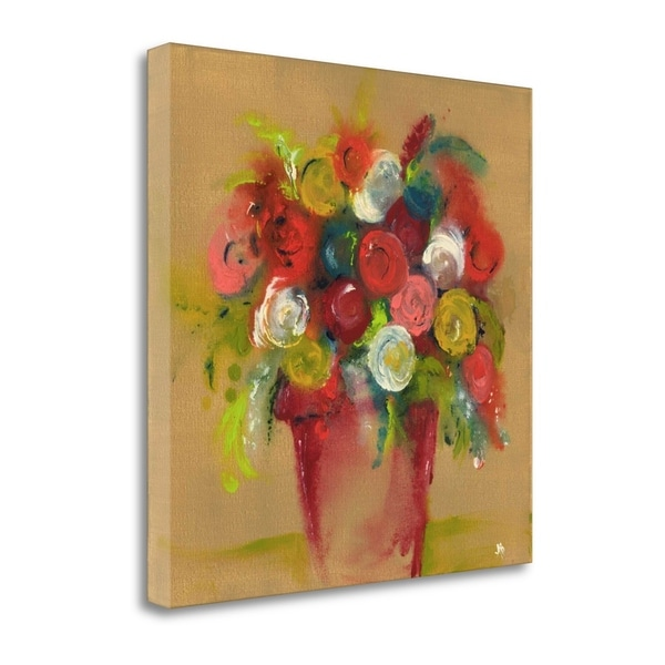 """""""Finger Painting Tan"""" By Amber Berninger, Giclee Print on Gallery Wrap Canvas"""