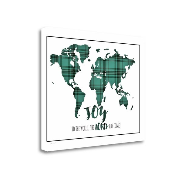 """Joy To The World"" By Jo Moulton, Fine Art Giclee Print on Gallery Wrap Canvas, Ready to Hang"