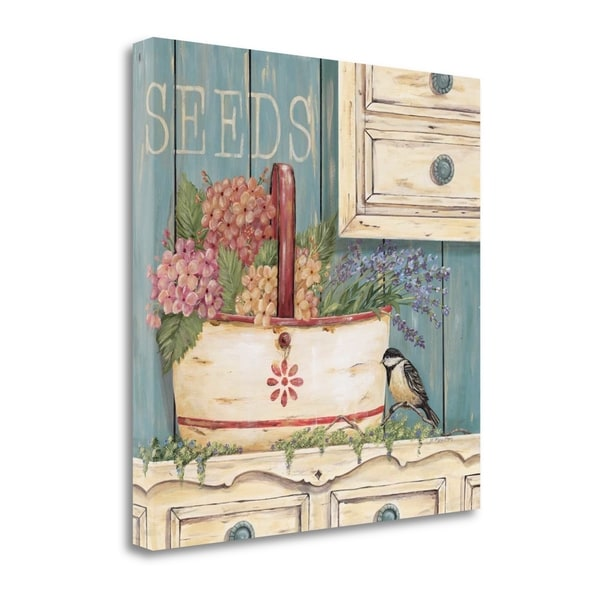 """Seeds"" By Jo Moulton, Fine Art Giclee Print on Gallery Wrap Canvas, Ready to Hang"