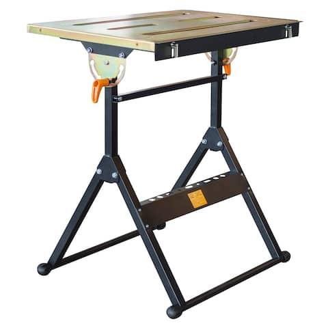 HIT Adjustable Flameproof Steel Welding Table