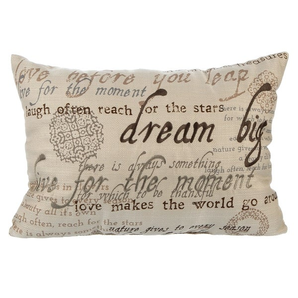 Better Homes & Gardens Sentiments Oblong Pillow