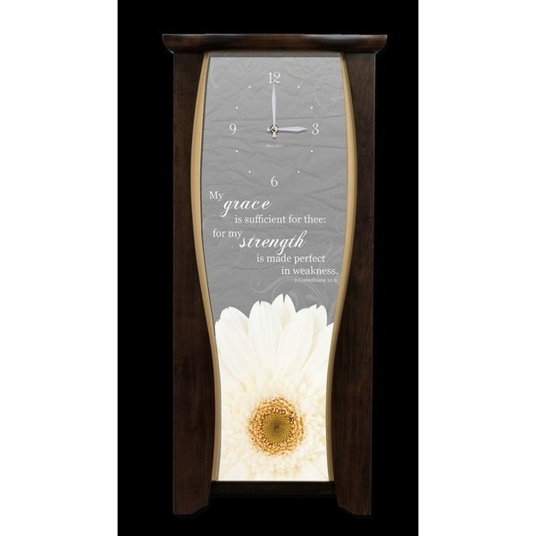 "Precious Melodies Clock - Daisy with ""At the Foot of the Cross"" Chimes"