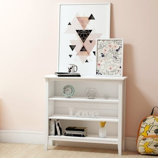 Link to Taylor & Olive Snowberry 3-shelf Pine Wood Bookcase Similar Items in Kids' Storage & Toy Boxes