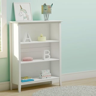 Taylor & Olive Snowberry Tall 3-shelf Pine Wood Bookcase