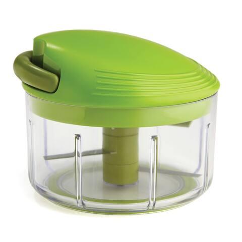 Kuhn Rikon 27401 2-Cup Pull Chop Food Chopper, Green