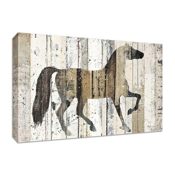 """Dark Horse"" by Michael Mullan, Fine Art Giclee Print on Gallery Wrap Canvas"