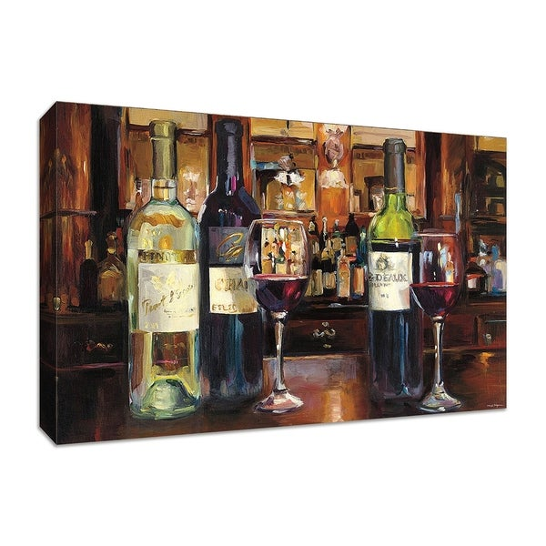 """""""A Reflection of Wine"""" by Marilyn Hageman, Fine Art Giclee Print on Gallery Wrap Canvas"""