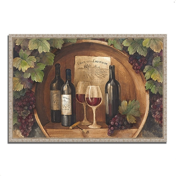 """""""At the Winery"""" by Albena Hristova, Fine Art Giclee Print on Gallery Wrap Canvas"""