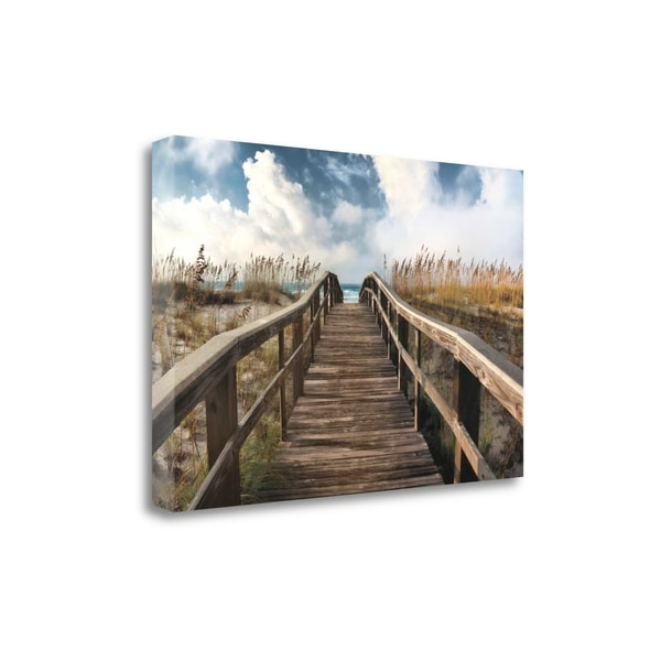 """""""Path To Paradise"""" By Michael Cahill, Fine Art Giclee Print on Gallery Wrap Canvas, Ready to Hang"""