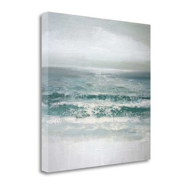"""""""Waves"""" By Caroline Gold, Fine Art Giclee Print on Gallery Wrap Canvas, Ready to Hang"""