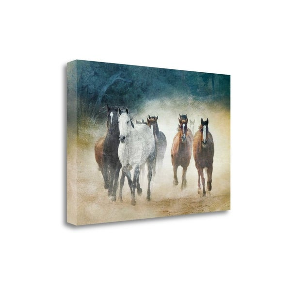"""""""Dust Devils"""" By Wendy Caro, Fine Art Giclee Print on Gallery Wrap Canvas, Ready to Hang"""