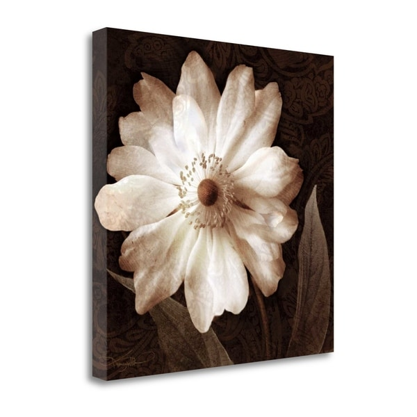 """Paisley Blossom II"" By Keith Mallett, Fine Art Giclee Print on Gallery Wrap Canvas, Ready to Hang"