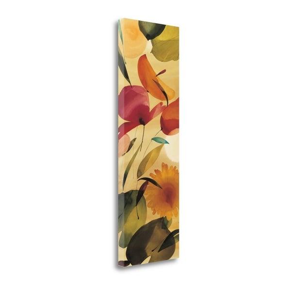 """Fiesta Primaveral II"" By Lola Abellan, Fine Art Giclee Print on Gallery Wrap Canvas, Ready to Hang"