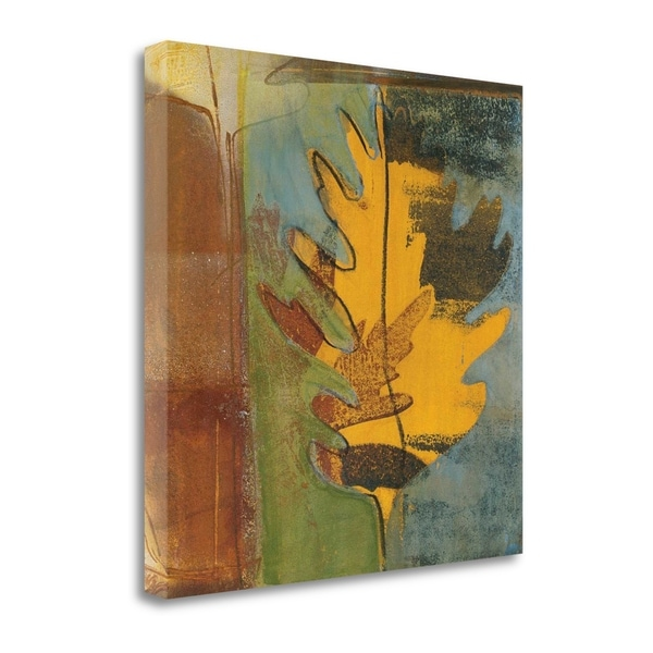 """Dancing Leaf"" By Leslie Bernsen, Fine Art Giclee Print on Gallery Wrap Canvas, Ready to Hang"