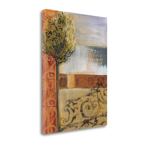 """Beyond The Gate"" By Leslie Bernsen, Fine Art Giclee Print on Gallery Wrap Canvas, Ready to Hang"
