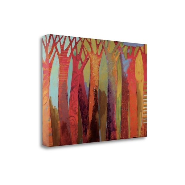 """""""Enchanted City"""" By Brenda K. Bredvik, Fine Art Giclee Print on Gallery Wrap Canvas, Ready to Hang"""