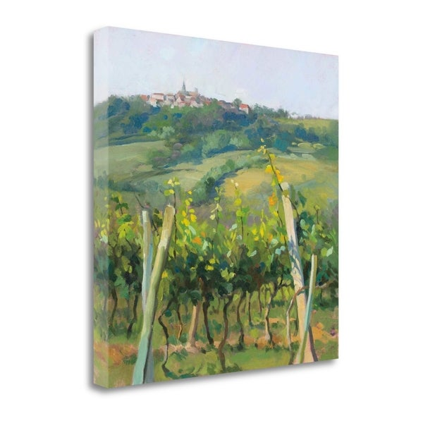 """""""Flauvigny VIew"""" By Christine Debrosky, Fine Art Giclee Print on Gallery Wrap Canvas, Ready to Hang"""