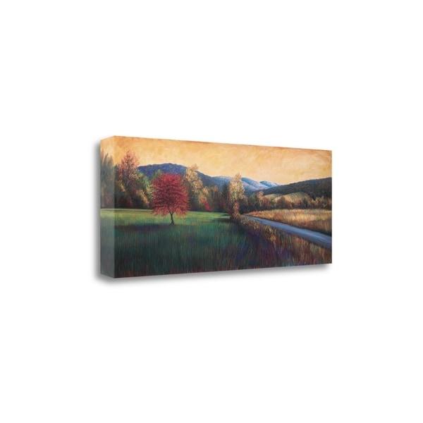 """Near Salem"" By Beth Crowder, Fine Art Giclee Print on Gallery Wrap Canvas, Ready to Hang"