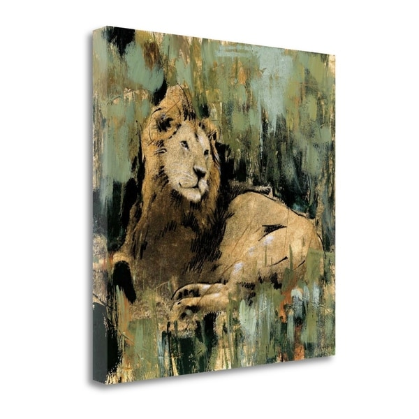 """Heart Of The Jungle II"" By Liz Jardine, Giclee Print on Gallery Wrap Canvas"