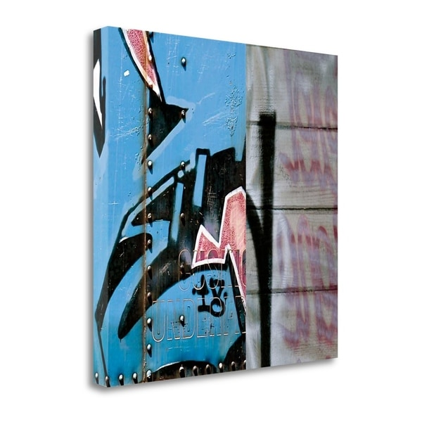 """""""Street Flow I"""" By Nicola Katsikis, Fine Art Giclee Print on Gallery Wrap Canvas, Ready to Hang"""