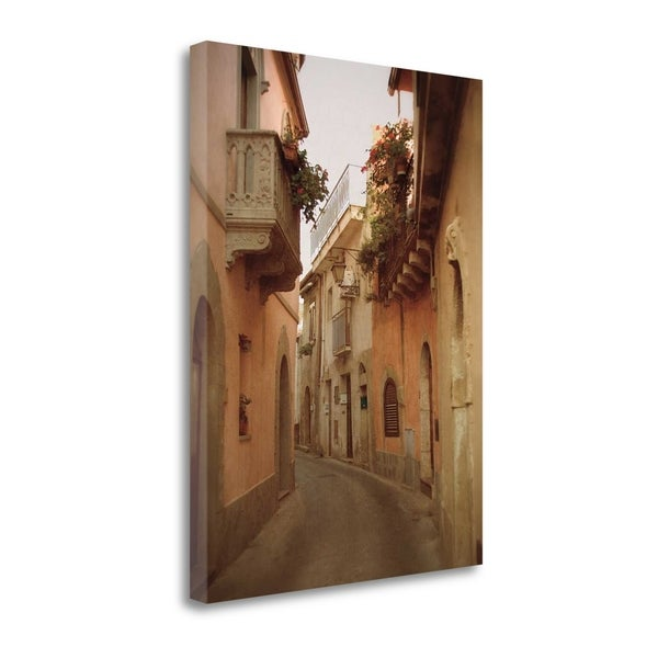 """Forza Dargo Alleyway II"" By Heather Jacks, Giclee Print on Gallery Wrap Canvas"