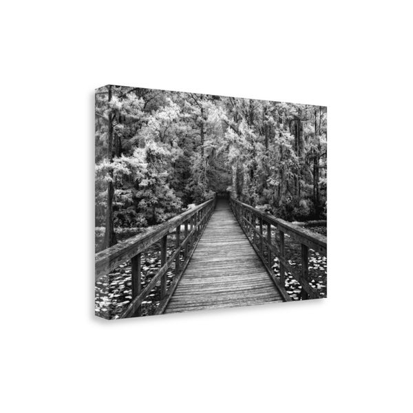 """A Walk Into Tranquility"" By Mike Jones, Giclee Print on Gallery Wrap Canvas"