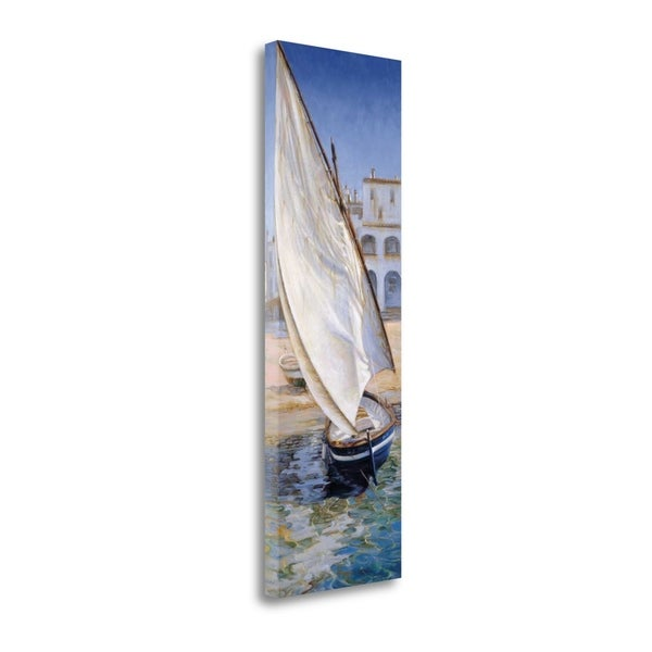 """""""East Wind"""" By Jaume Laporta, Fine Art Giclee Print on Gallery Wrap Canvas, Ready to Hang"""