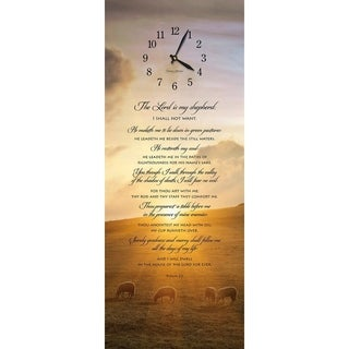 "Precious Melodies Clock - Psalm 23 with ""On Eagle's Wings"" Chimes"