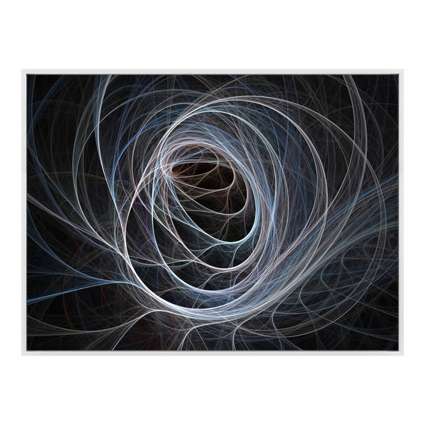 Aurelle Home Fibre Optic Swirl Wall Decor. Opens flyout.