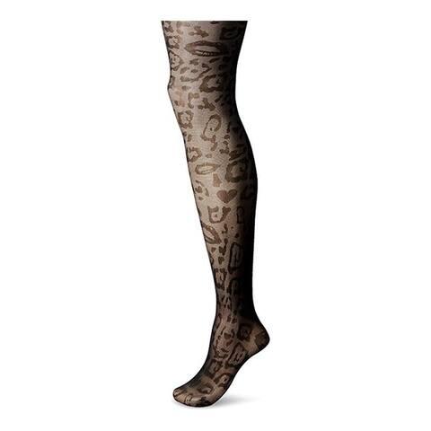 Marilyn Monroe Women Animal Patterned Sheer Pantyhose Tight Stockings