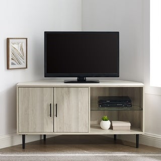 Link to Carson Carrington Esbo 48-inch Corner TV Stand Console Similar Items in TV Stands & Entertainment Centers