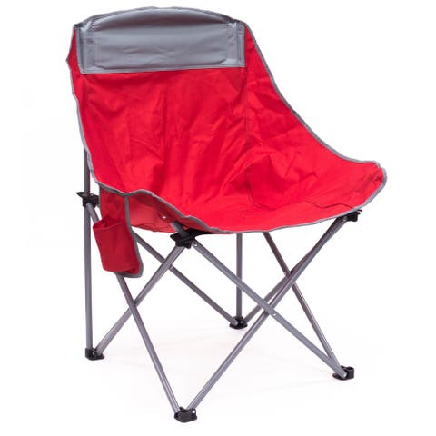 Creative Outdoor Bucket Chair, Red