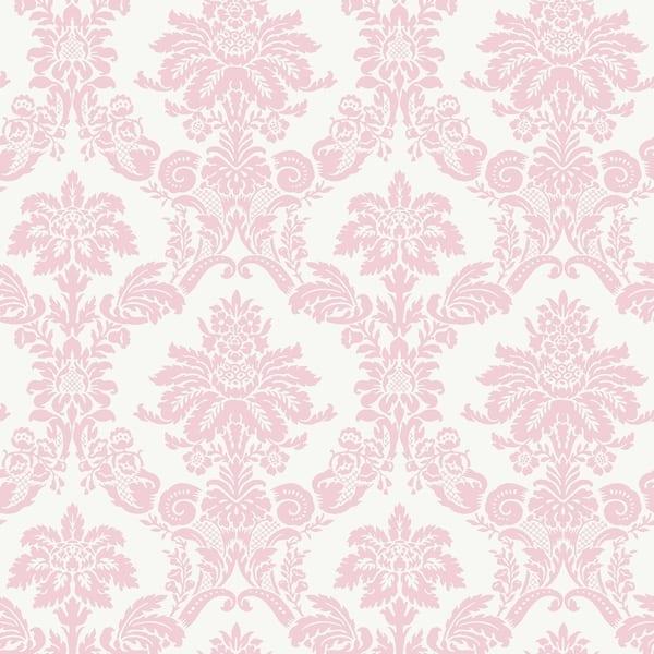 Shop Matte Glitter Damask Wallpaper 32 81 Feet Long X 20 5 Inchs
