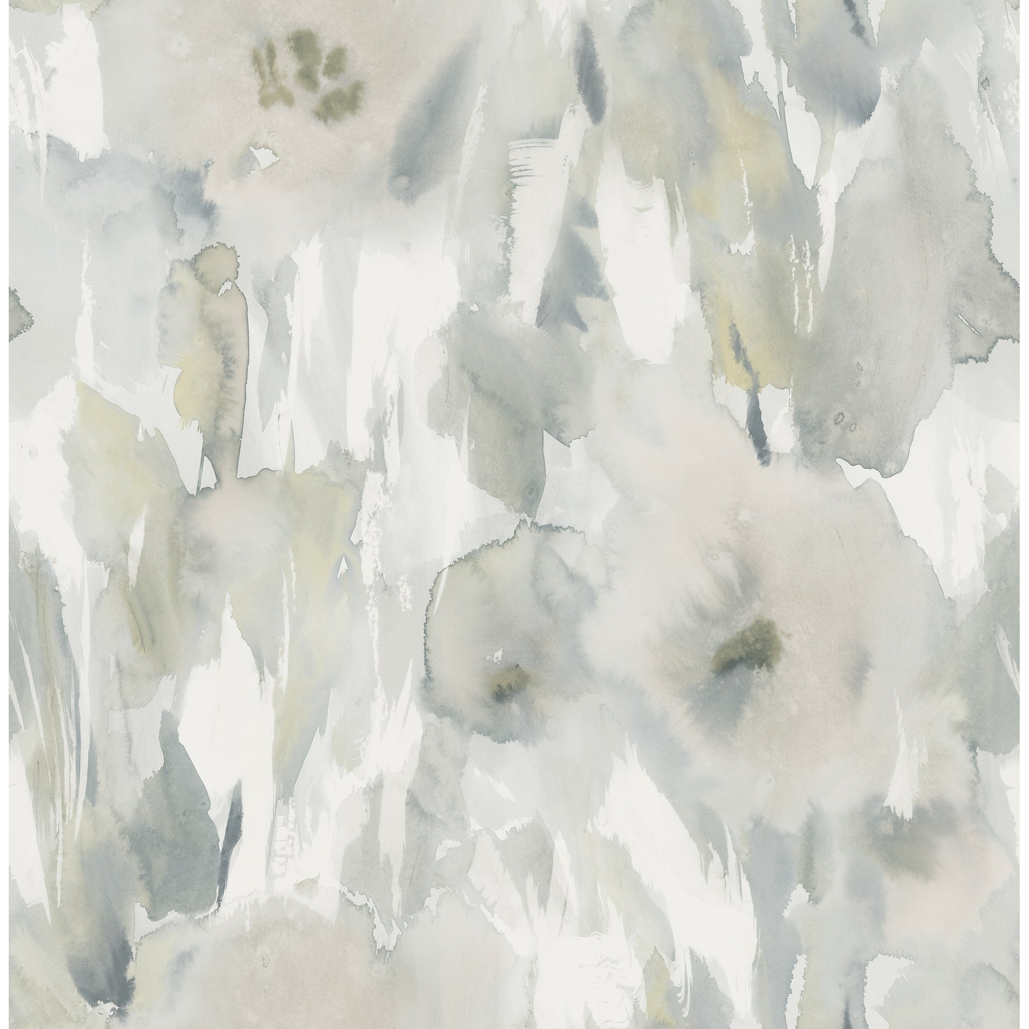 Shop Satin Watercolor Floral Wallpaper 32 81 Feet Long X 20 5