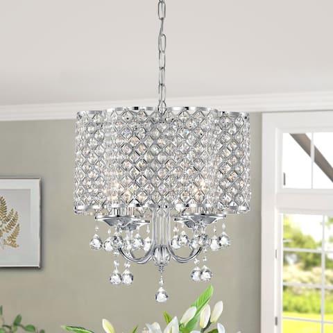 Silver Orchid Windsor Crystal Chandelier