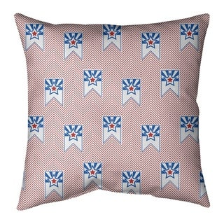 Festive Independence Day Flag Pattern Floor Pillow - Standard