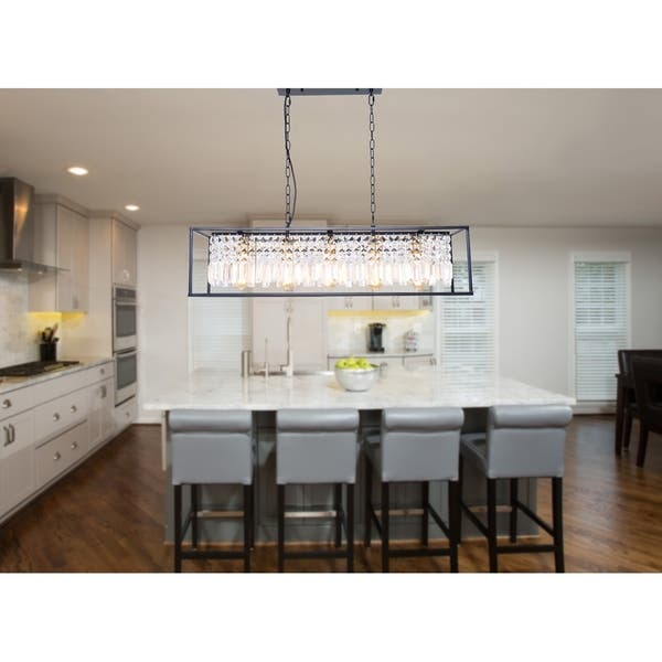 Light Linear Kitchen Island Lighting