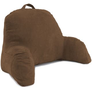 Microsuede Bed Rest - Reading and Bed Rest Lounger - Bed Pillow