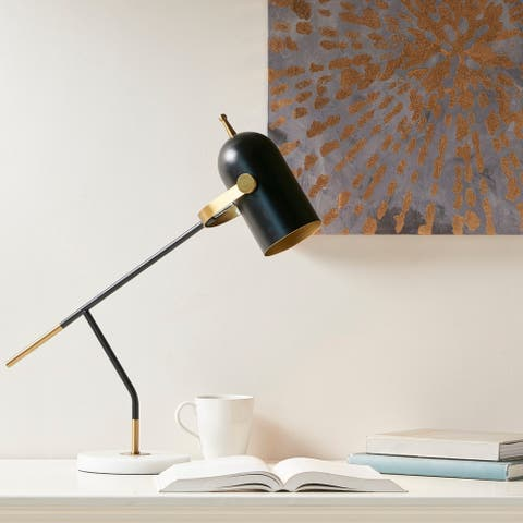 Taron Black Table Lamp by Urban Habitat