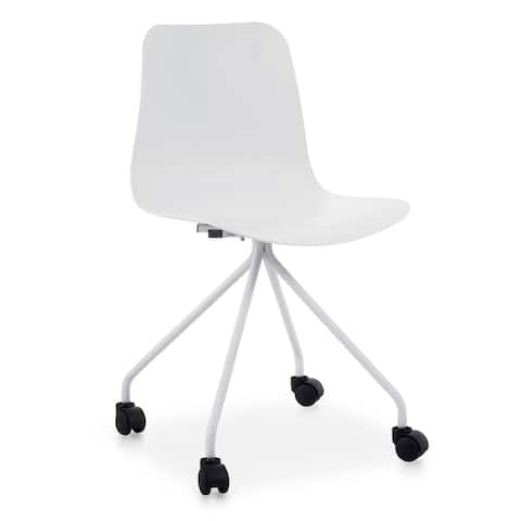 Poly and Bark Alva Task Chair in White