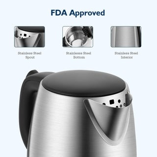 kettle, electric kettle, cord storage