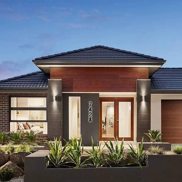 7 Inch Upscale Led Modern House