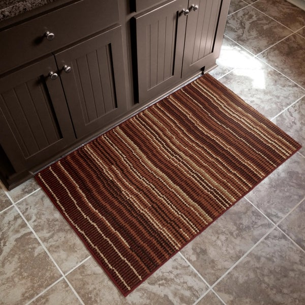 """Orian American Heritage Beach Blanket Rouge Accent Rug (1'8"""" x 2'10"""") - 1'8"""" x 2'10"""""""
