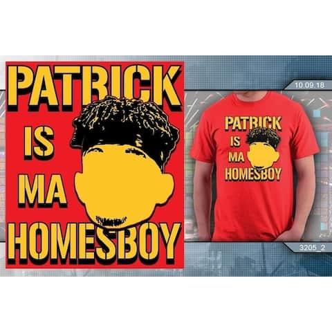 "Kansas Football "" PATRICK IS MA HOMESBOY"" T-Shirt (Red)"